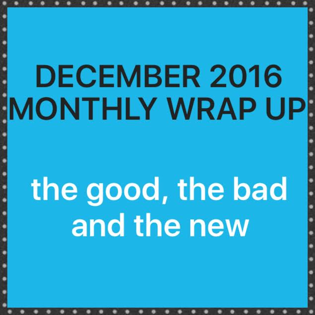 December 2016 WrapUp