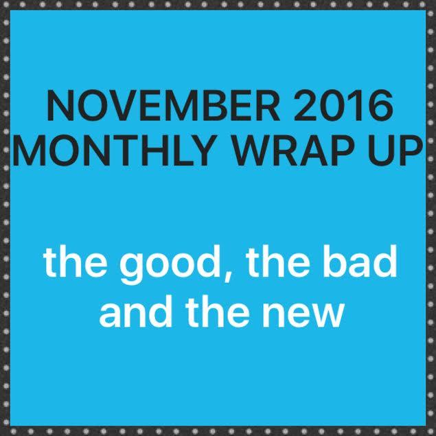 November 2016 WrapUp
