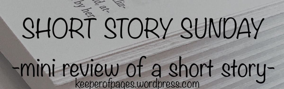 Short Story Sunday: Three Weeks Dead by RebeccaBradley