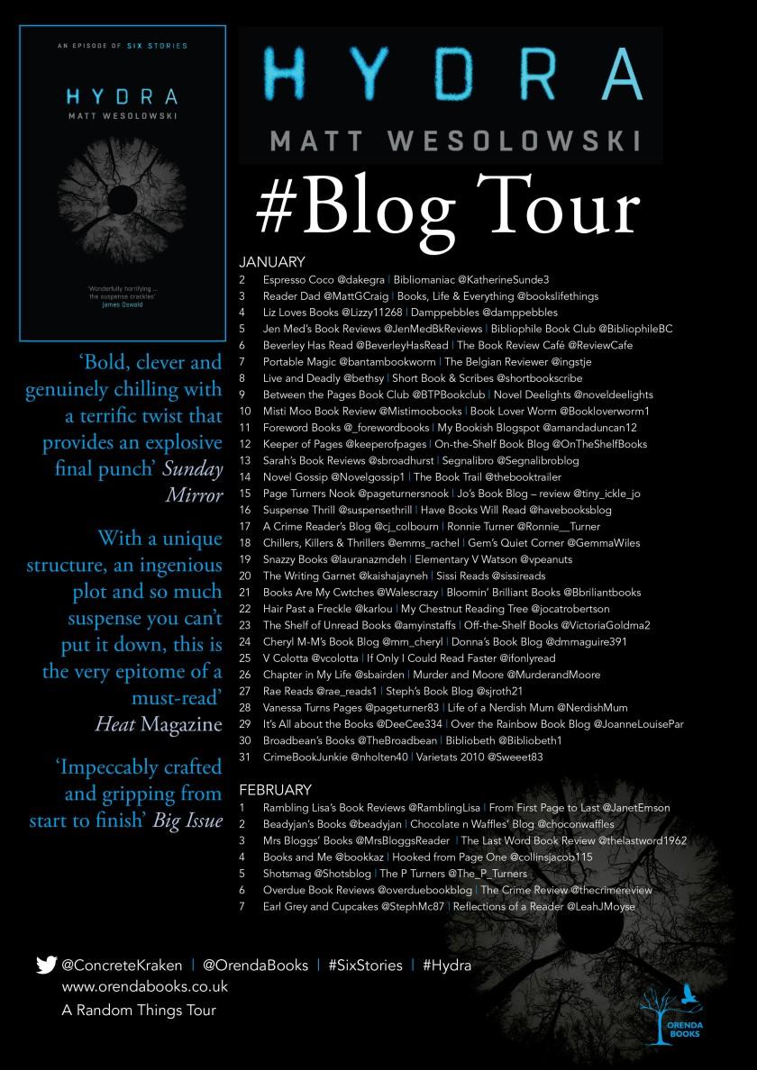Hydra blog poster