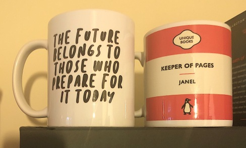 Bookish mugs