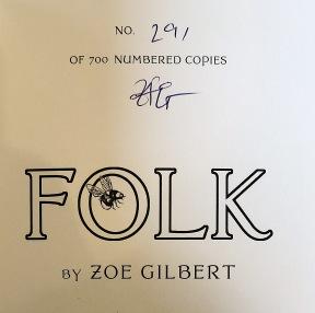 Folk - signed copy