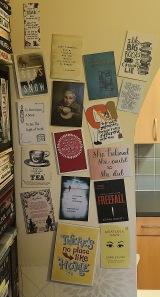 Wall of print