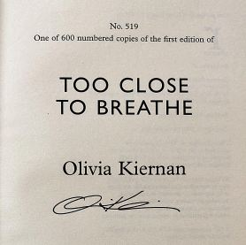 GB BOTM Too Close To Breathe - signed