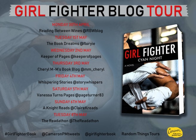 Girl Fighter Blog Tour Poster