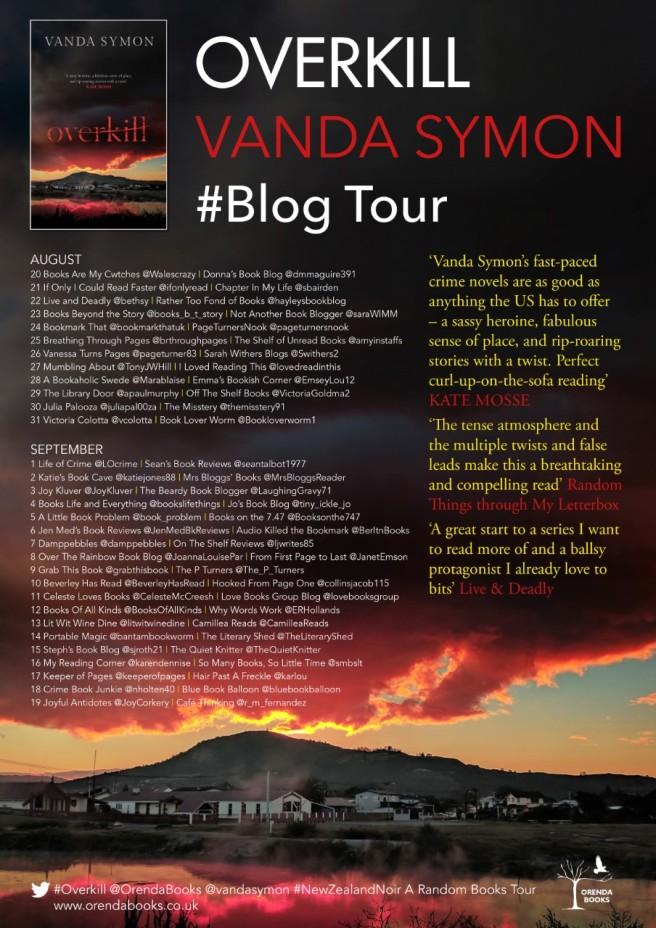 Overkill Blog Tour Poster