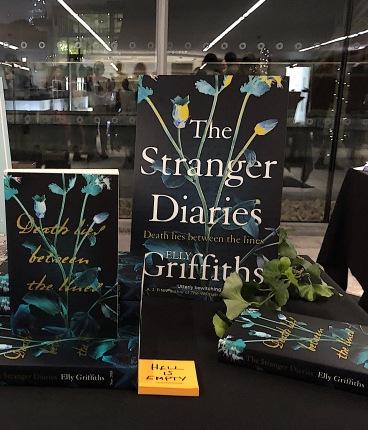 Stranger Diaries stand