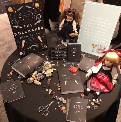 The Dollmaker stand