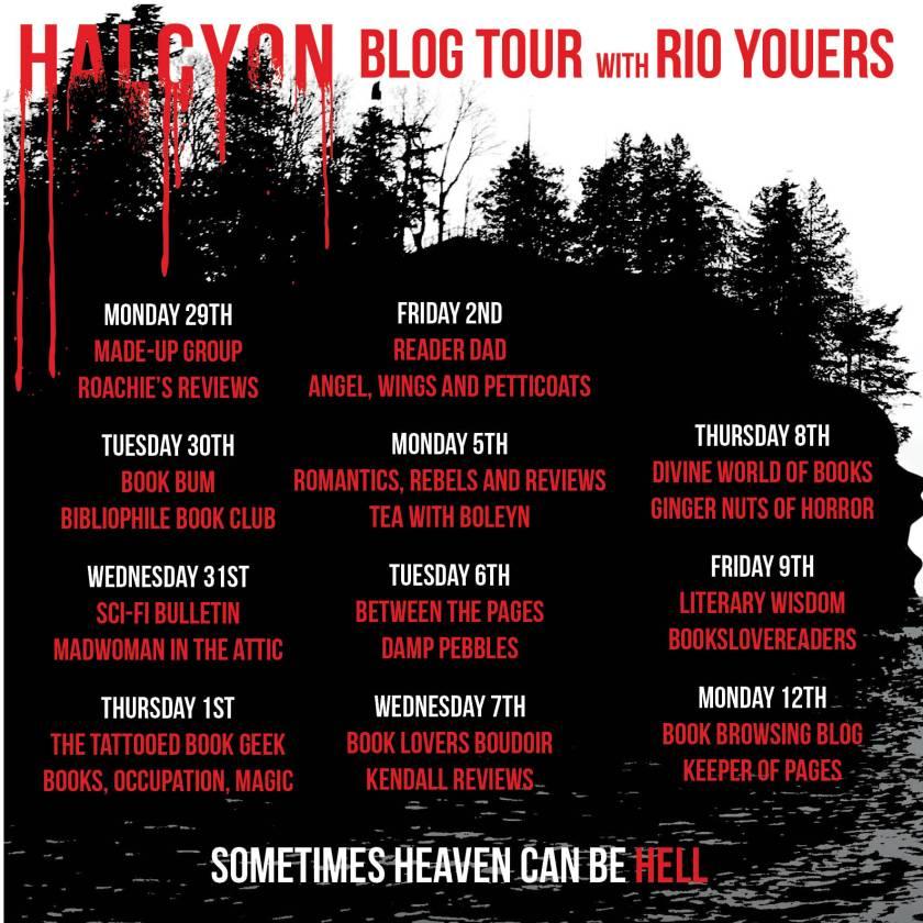 Halcyon blog tour banner