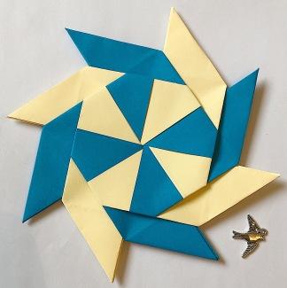 Shuriken Origami Star